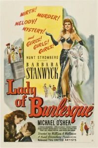 LADY-OF-BURLESQUE-1943-Comedy-Music-Mystery-Movie-Film-PC-iPhone-INSTANT-WATCH