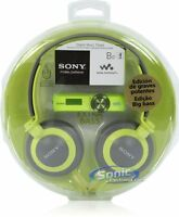 Sony Walkman Nwz-b173f Green 4gb Mp3 Fm Radio Mdr-xb200 Nwzb173f