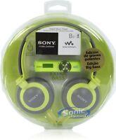 Sony Walkman Nwz-b173f Green 4gb Mp3 Fm Radio Mdr-xb200 Nwzb173f