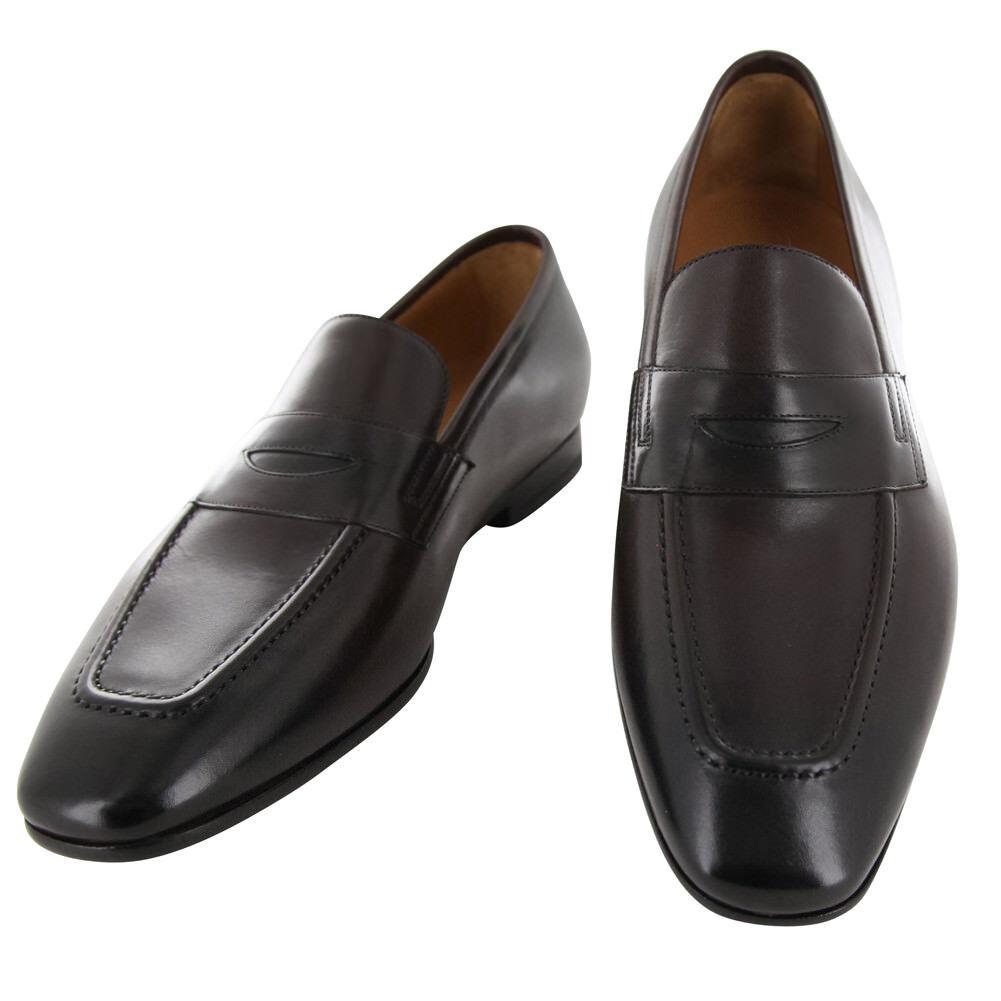 New  900 Fiori Di Lusso marrone Pelle Scarpe - Loafers - (ROMABRN)
