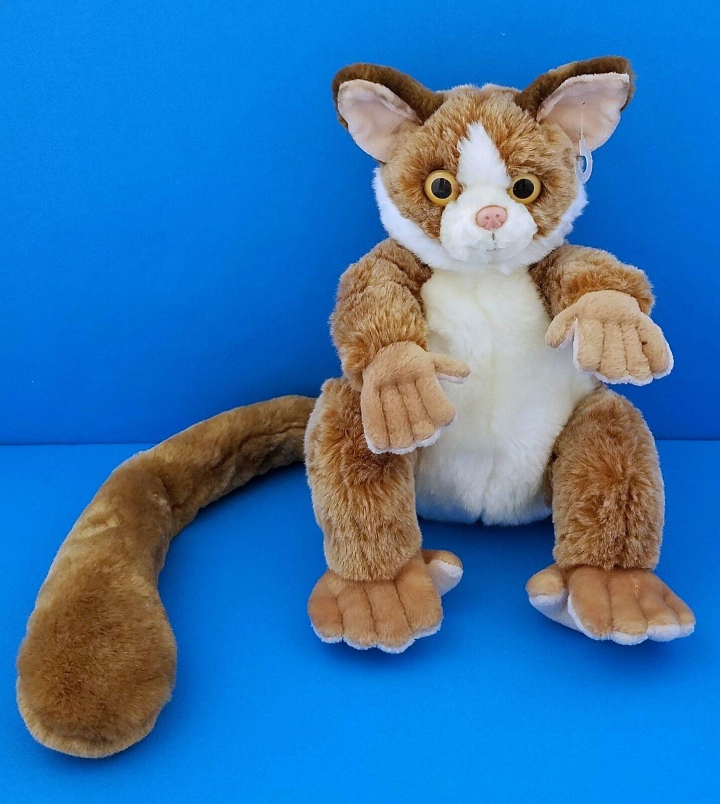 Animal Alley Brown Lemur Mouse Beanbag Plush Toys R Us RARE