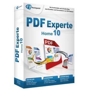 Avanquest PDF Experte 10 Home Vollversion MiniBox