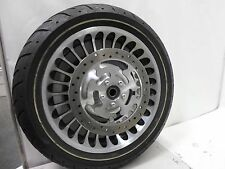 "Harley Davidson 17"" Wheel  Dual Rotors Road Glide Street Glide 2009 NON ABS 25mm"