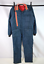 Vtg-70s-Blue-Red-Stripe-Coveralls-Ski-Snow-Suit-Board-Insulated-Jumpsuit-Mens-M thumbnail 1
