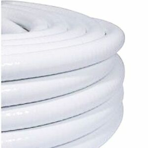 White-PVC-Reinforced-Saniflex-Hose-3-4-034-and-1-1-2-034-ID-Sizes-Available