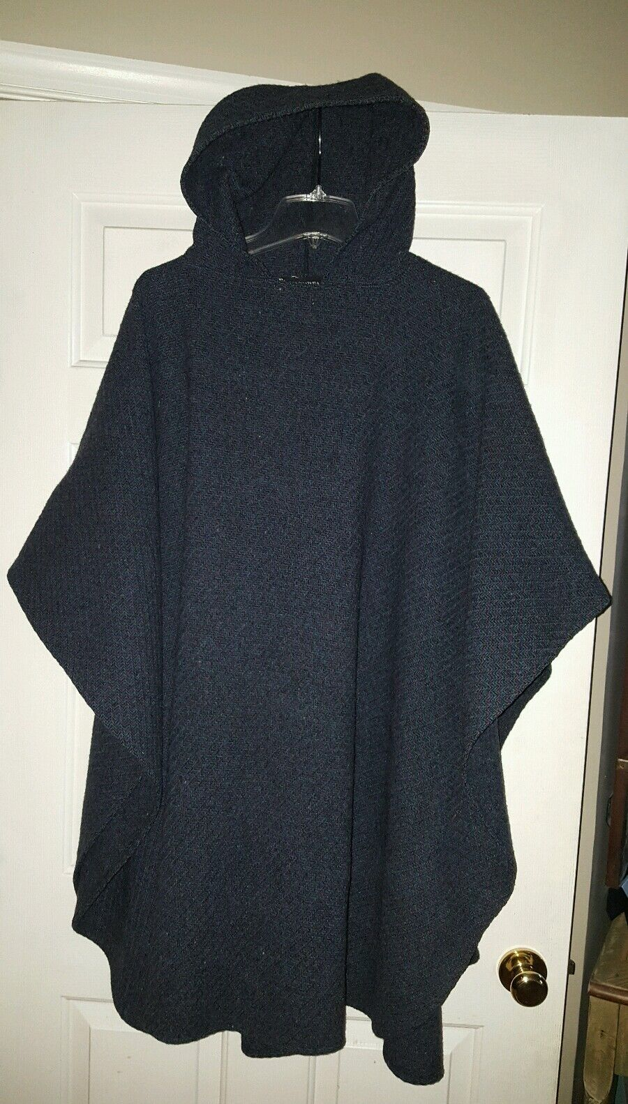 coloratura of Boston Tweed Cape Cape Cape PERFECT condition Wool One size fits all hooded a3e31c