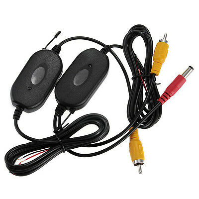 2.4GHz RCA 12V Wireless Transmitter Receiver Kit for Car Rearview Camera