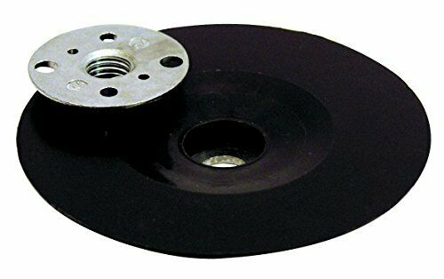 Leman 127.06 Plateau en Caoutchouc ø 125 mm avec écrou M14 pour disque fibre//sem