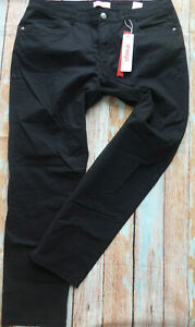 Sheego-Trousers-Cloth-Pants-Black-Size-48-plus-Size-947