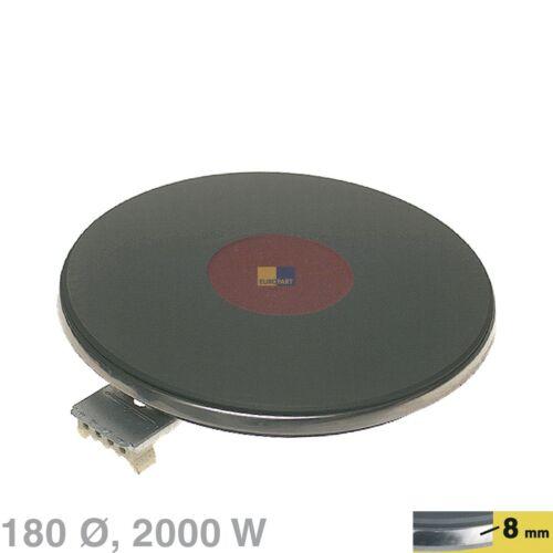 Kochplatte Platte 180mm Ø 2000W 230V Kochfeld Herd Küche EGO 1218463194 ORIGINAL