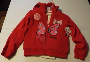 Disney Minnie Mouse Jacket Girl 7//8 NEW