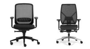Bürostuhl Stoffbezug Schreibtischstuhl Armlehne Schwarz Grau Chefsessel Drehs.. Verbraucher Zuerst Drehstühle & -sessel
