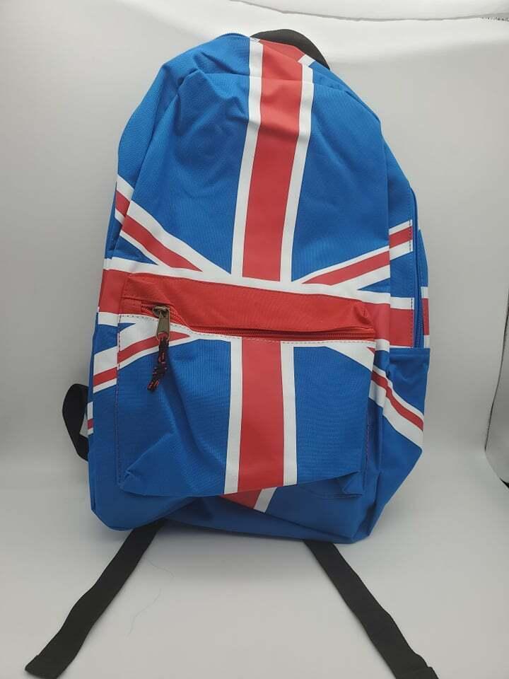 Großbritannien Flagge Rucksack Union Jack Naht Neu Hot Themen Vintage Original