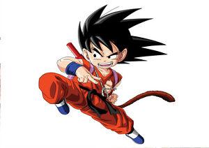 Adroit Sticker Poster Manga Dragon Ball Z. Sangoku Enfant Son Goku Kid Fight Action. A4 Divers ModèLes RéCents