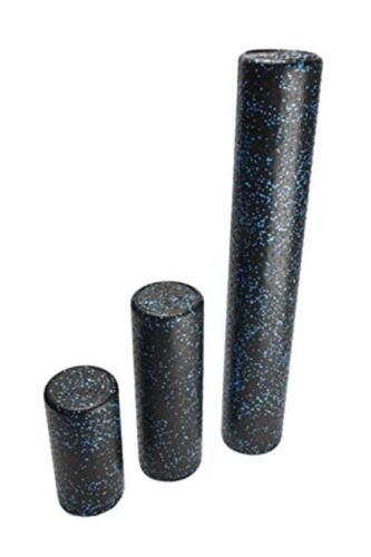Speckled Foam Rollers for Muscles Assorted Colors LuxFit Foam Roller Sizes