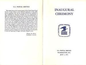 1396-First-Day-Ceremony-Program-8c-Postal-Service-Emblem-Stamp-w-FDC