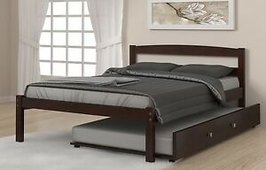 Full Bed Frames with Trundle
