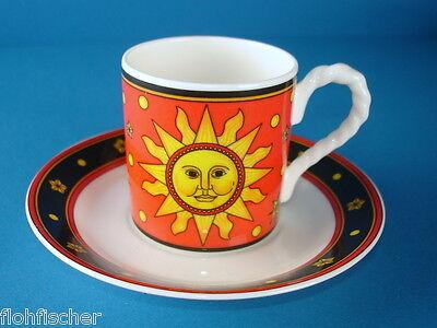 Teetasse Moon and Stars Tasse rot Villeroy /& Boch Paloma Picasso Sun