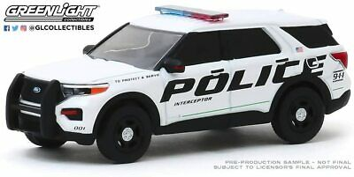 2020 Ford Police Interceptor Utility Blue Massachusetts State Police Hot Pursuit Series 36 1//64 Diecast Model Car by Greenlight 42930 F