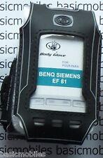 BenQ Siemens EF81 Black Body Glove BodyGlove Mobile Phone case