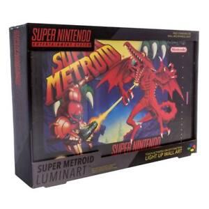 Super-Nintendo-Lampe-Super-Metroid-30-cm-NEU-amp-OVP