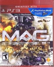MAG Greatest Hits (Sony Playstation 3, 2010)   Factory Sealed Cellophane