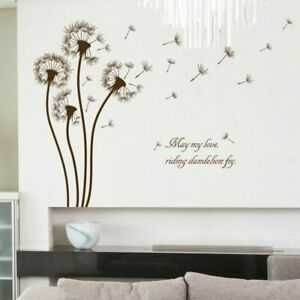 Home-Decor-Wall-Sticker-Bedroom-Living-Room-Decoration-Dandelion-Wall-Decal