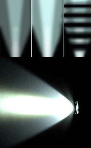 Mossberg 500 stevens 320 12 ga pump barrel mount 1500 lumen flashlight hunting.