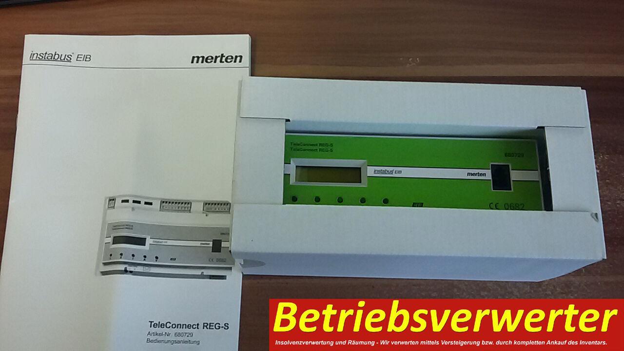 Merten EIB KNX 680729 TeleConnect REG-S NEU & Ovp.   Einfach zu bedienen