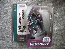 Mcfarlane Nhl Series 9 Sergei Fedorov Mighty Ducks figure Mint Rare