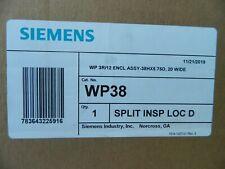 New Siemens Wp38 Enclosure Nema 3r12 Outdoor 38 H X 20 W X 5 34 D