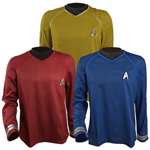 Image is loading Star-Trek-Into-Darkness-Captain-Kirk-Spock-Scotty-  sc 1 st  eBay & Star Trek Into Darkness Captain Kirk Spock Scotty Shirt Halloween ...