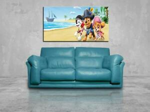 Details About Paw Patrol Marshall Canvas Print Wall Giclee Art Poster Photo Home Decor Ca1128