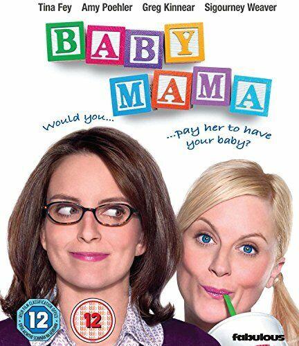 Baby Mama [Blu-ray] [DVD][Region 2]