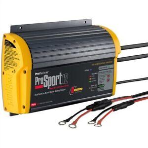 Promariner-Prosport-12-PFC-Gen-3-12-Amp-2-Banca-Caricabatterie