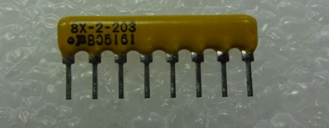 5 pieces BOURNS 4116R-1-105LF THICK FILM RESISTOR NETWORK