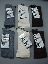 NWT Women's Hue Luster Brocade Socks One Size Multi 6 Pair #93J