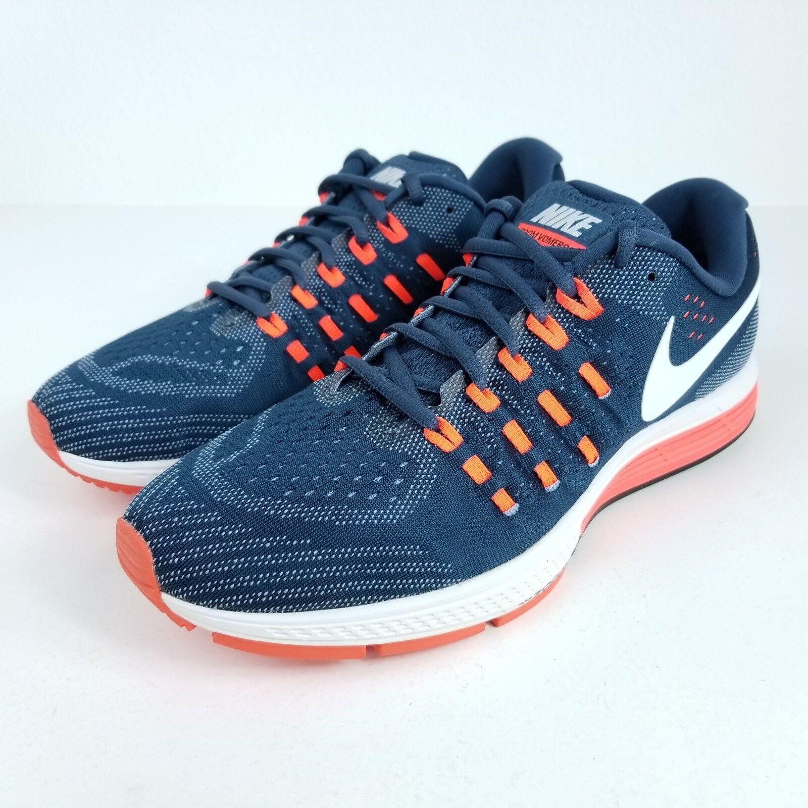 Nike blu air zoom vomero 11 uomini sz molteplici scarpe blu Nike arancione bianco 818099 401 65d76e