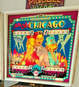 BALLY PINBALL MACHINE OLD CHICAGO REFURBISHED GAMEROOM FREE SHIPPING