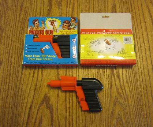 2 NEW POTATO GUNS CLASSIC KIDS TOY PISTOL POTATOE SPUD LAUNCHER GUN GAG GIFT