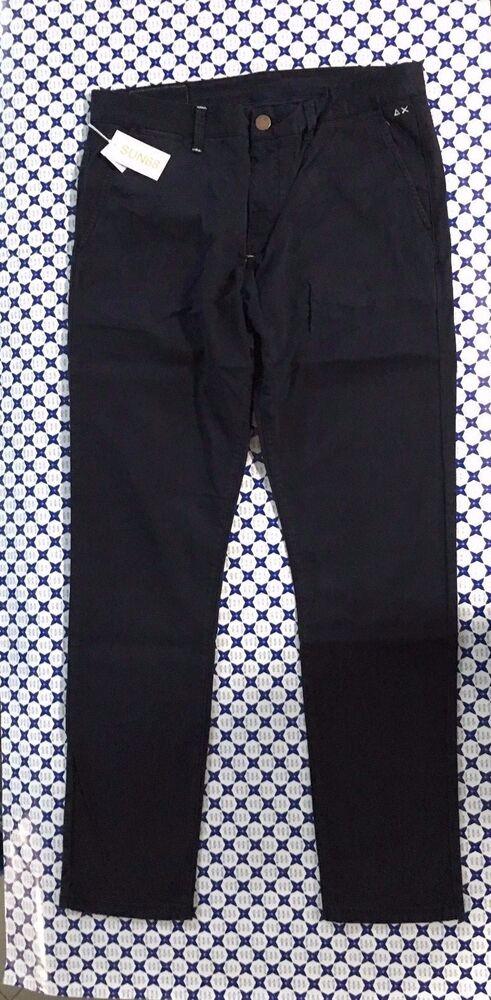 Hommes Jeans Pantalon Bleu Denim Slim Fit Skinny Déchiré DETERIORE w29-w36 NEUF
