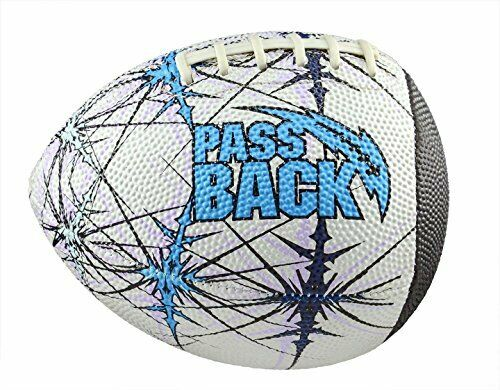 Passback Sports Peewee Rubber Passback Football Ages 4-8