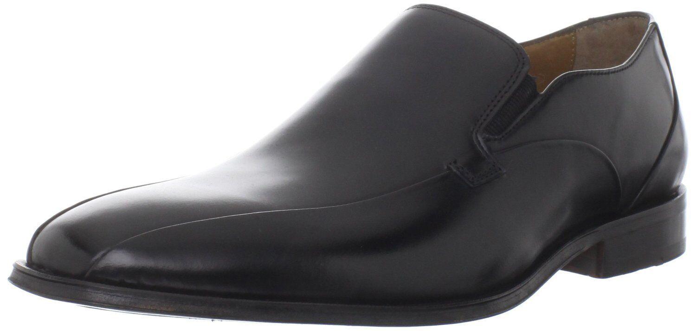 Homme Florsheim 11356 Librelance Bike Toe en Cuir Noir Slip-On chaussures