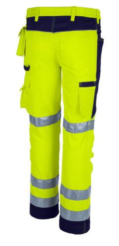 QUALITEX Pro MG 245 Warnschutz Bundhose Arbeitshose zwei Farben Gr 42-110 NEU