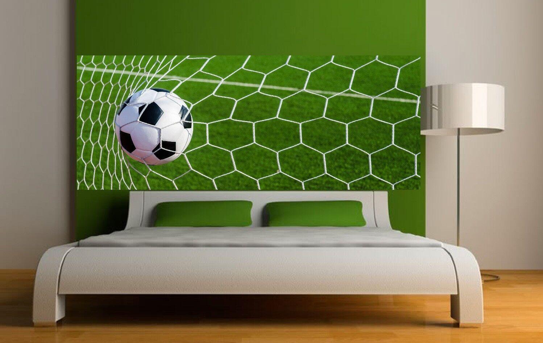 Papel pintado cabeza de colcha malla de fútbol Arte decoración Pegatinas