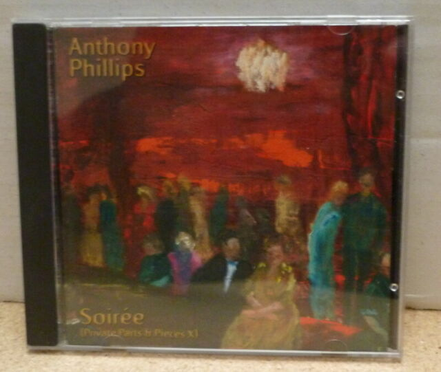 Anthony Phillips ‎'Private Parts And Pieces' cd