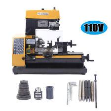 180w High Power Metal Mini Lathe Diy Tool Micro Drilling And Milling Machine