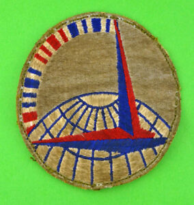 WWII Sterling Enamel Air Transport Command Pin - Vintage
