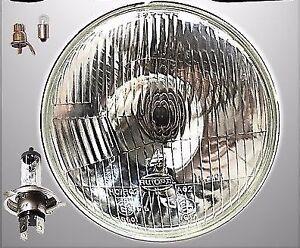 "CLASSIC ROVER MINI 7/"" SEALED BEAM XENON HALOGEN CONVERSION HEADLIGHTS LAMPS"
