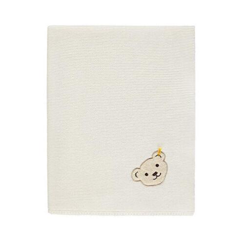 Steiff Baby soga manta l016842890 cm manta blanco manta cama manta cama manta nuevo